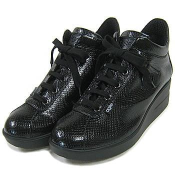 ルコライン靴(アージレ) 2020春夏 新作 定番商品 MANTA スニーカー RUCO LINE靴 NO.114BK(ブラック) ファスナー付き|hana-music