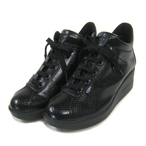 ルコライン靴(アージレ) 2020春夏 新作 定番商品 MANTA スニーカー RUCO LINE靴 NO.114BK(ブラック) ファスナー付き|hana-music|02