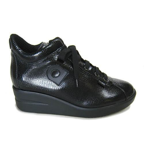 ルコライン靴(アージレ) 2020春夏 新作 定番商品 MANTA スニーカー RUCO LINE靴 NO.114BK(ブラック) ファスナー付き|hana-music|04