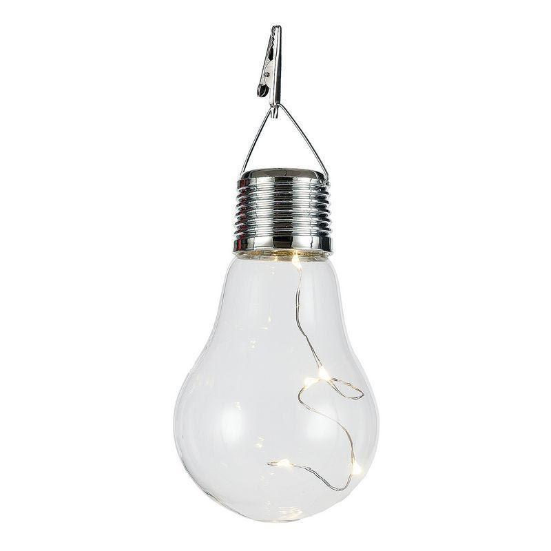 エイチツーオー 電球型ソーラーライト H9558 12個 インテリア 照明器具
