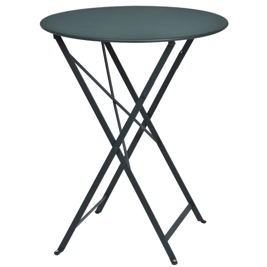 花ごころDo! ビストロ ラウンドテーブル60 シダーグリーン 65510 ガーデン家具 テーブル チェア