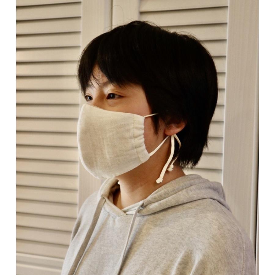 華布のオーガニックコットンの布マスク 日本製 薄地 洗える|hanafu|07