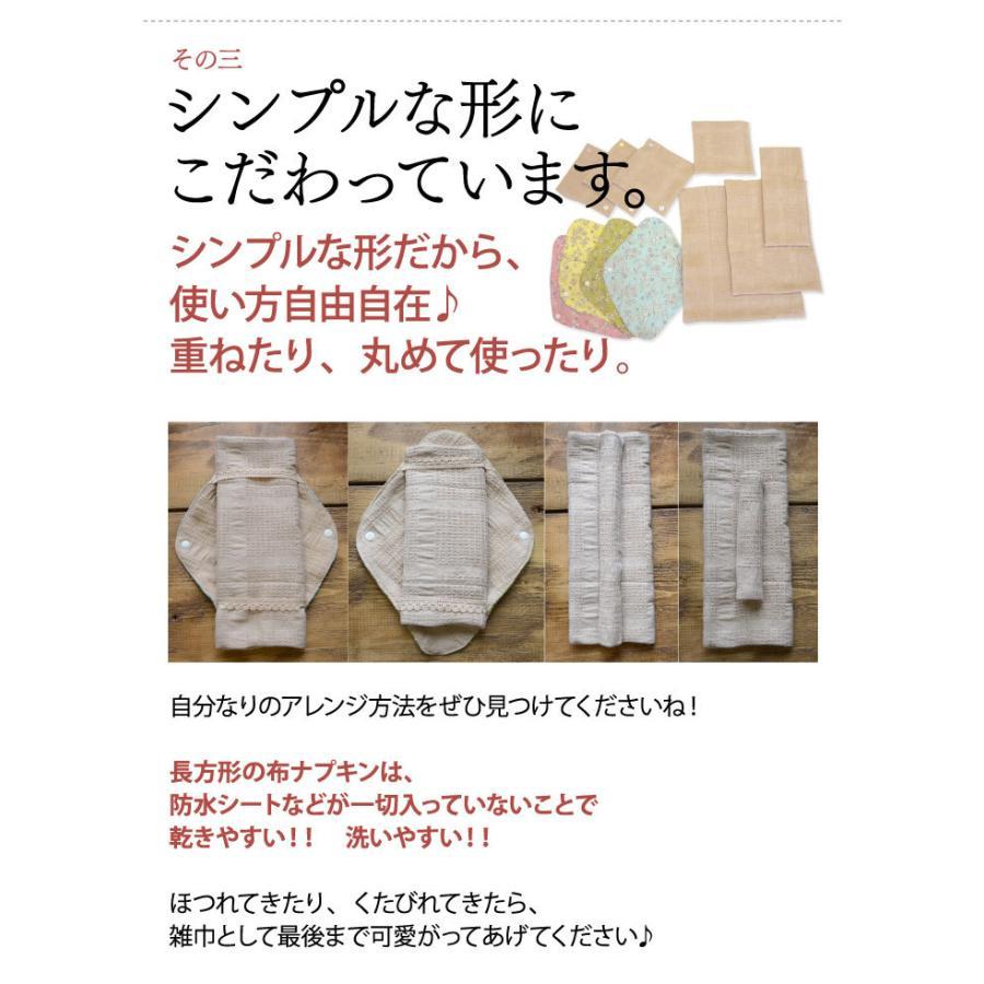 布ナプキン 福袋 セット <星セット> シンプルなスターターセット 華布 生理用 おりもの オーガニック 送料無料 2021 hanafu 12