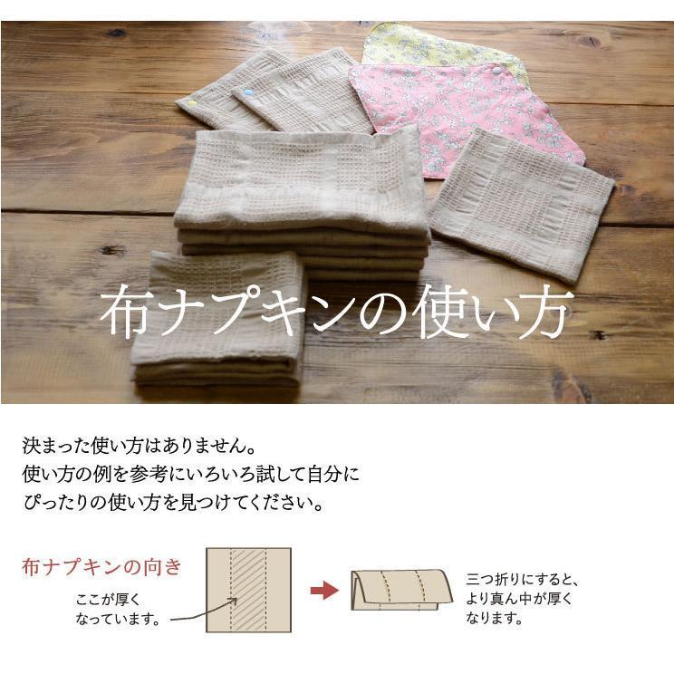 布ナプキン 福袋 セット <星セット> シンプルなスターターセット 華布 生理用 おりもの オーガニック 送料無料 2021 hanafu 13