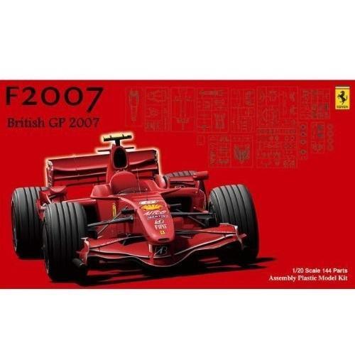 フジミ模型 1/20 グランプリ No.15 フェラーリ F 2007 イギリスGP