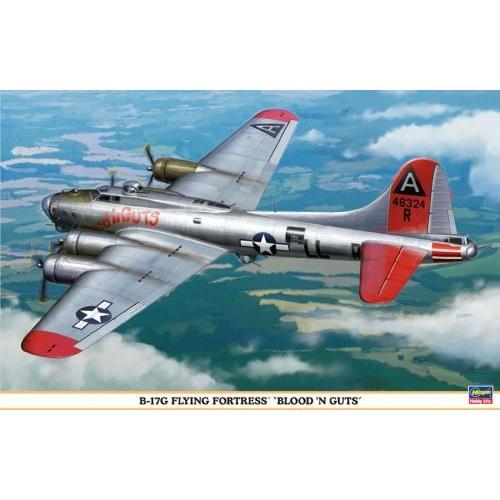 ハセガワ 1/72 B-17Gフライングフォートレス ブラッドン ガッツ
