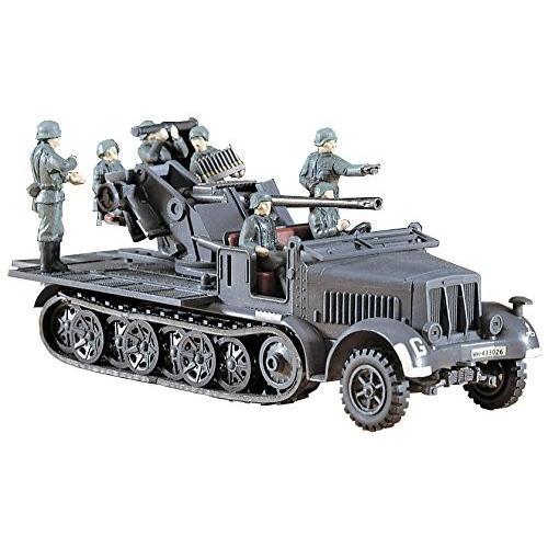 ハセガワ 1/72 ドイツ陸軍 8トン HT/37・対空砲 プラモデル MT18
