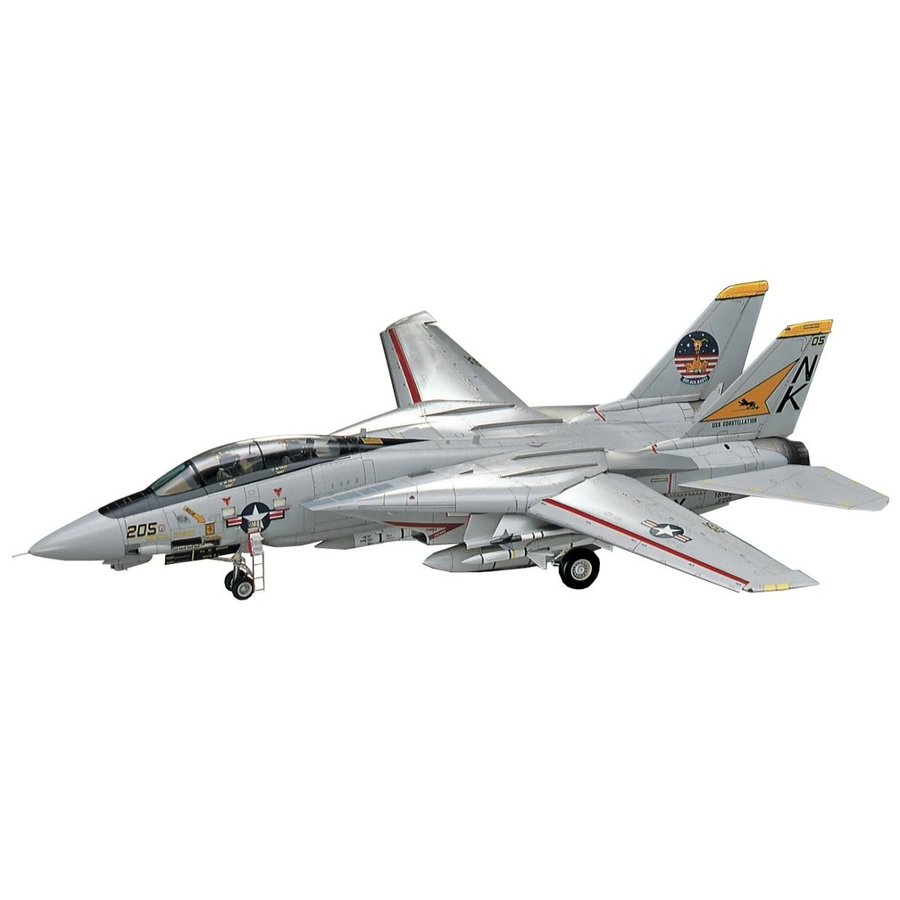 ハセガワ 1/48 アメリカ海軍 F-14A トムキャット プラモデル PT46