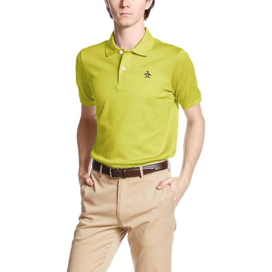 [マンシングウェア] ゴルフ シャツ XSG1600A メンズ L717(イエロー)