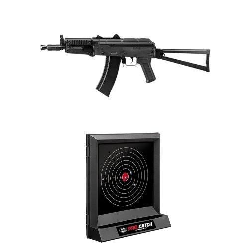 【セット商品】 AK74U (10歳以上電動ガン ライト・プロ) + ターゲットセット