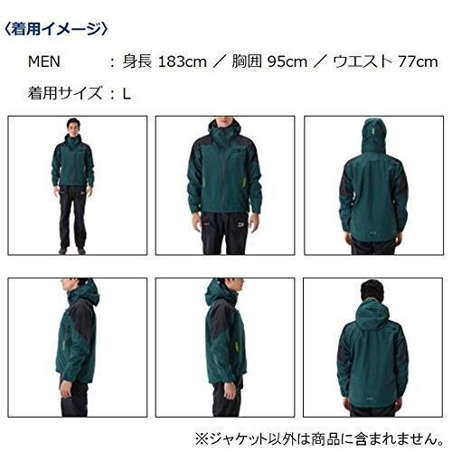 ダイワ(Daiwa) フィッシングジャケット レインウェア ゴアテックス プロダクト レインジャケット DR-1507J ブラック M