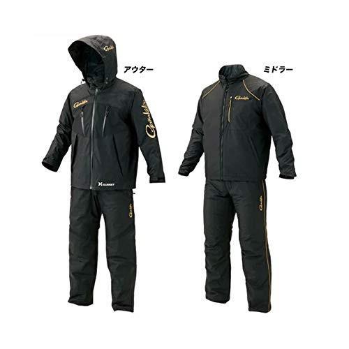 がまかつ(Gamakatsu) オールウェザースーツ GM3485 ブラック 5L.