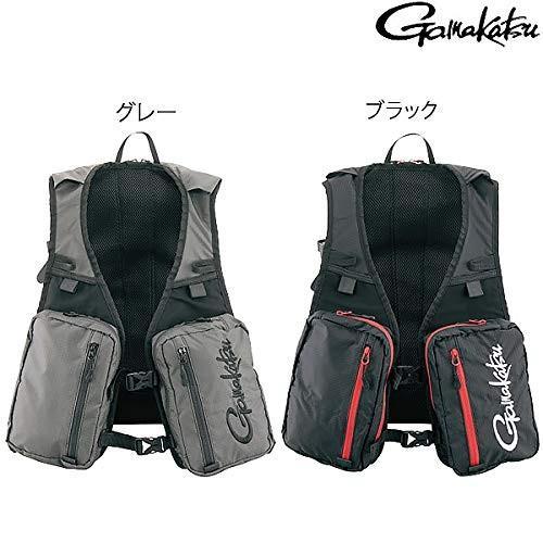 がまかつ(Gamakatsu) リュックベスト GM-2789 グレー