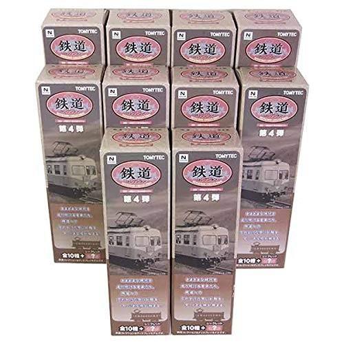 【10SET】 トミーテック 1/150 鉄道コレクション 第4弾 全10種セット(シークレットを含まない)