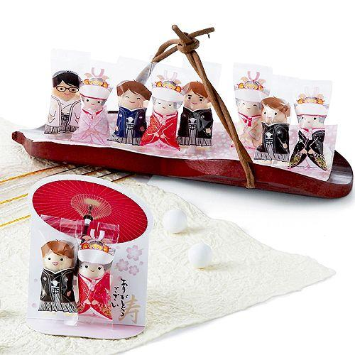 プチギフト お菓子 結婚式 ウェディング ブライダル「チョコっと愛あい傘(チョコ)」 CS1320-1098 hanakobo-wedding 04