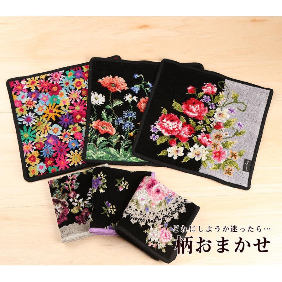 母の日 2021 ギフト プレゼント ハンカチ&ソープフラワー flower アーンジョーシリーズで人気のイニシャル 8種類から選べます hanamankai 13