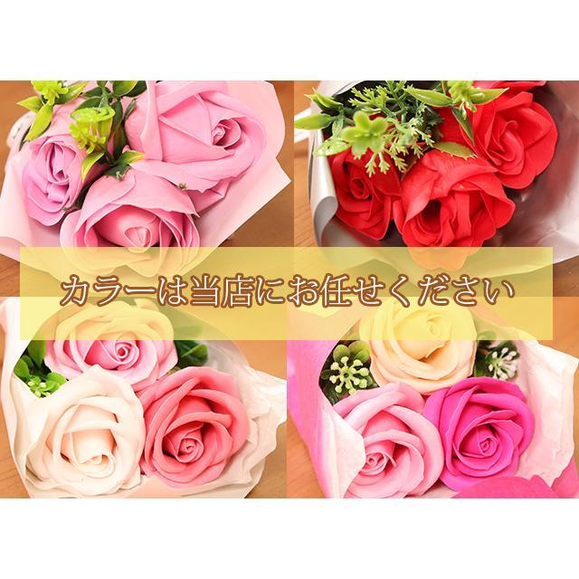 母の日 2021 ギフト プレゼント ハンカチ&ソープフラワー flower アーンジョーシリーズで人気のイニシャル 8種類から選べます hanamankai 15