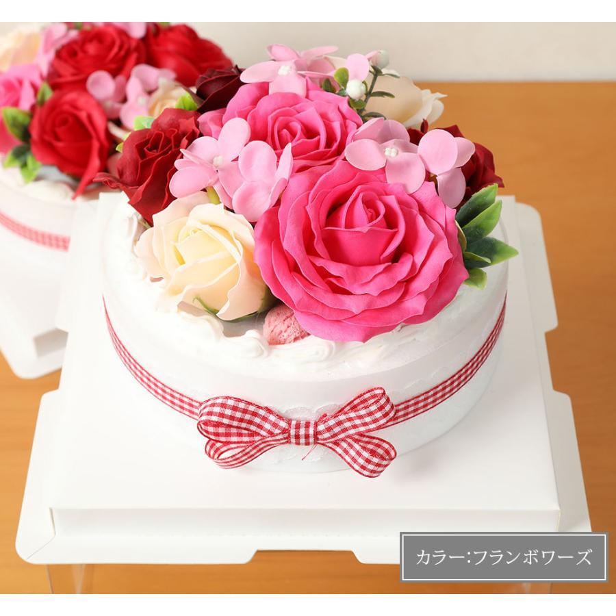 母の日  2021 ギフト プレゼント花 選べるギフト ソープフラワーボックス ラウルベアのブーケセット hanamankai 11