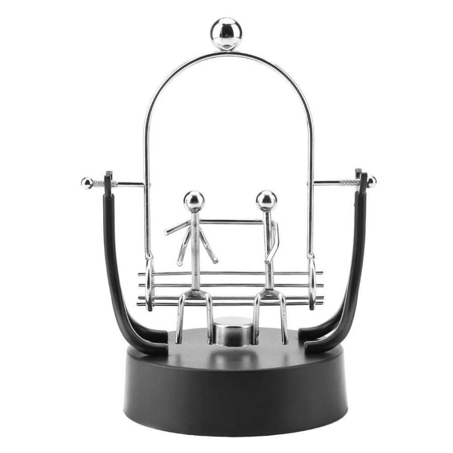 パーペチュアルモーション 科学玩具 インテリア 電子永久運動 アクセサリー キネティック コスモ キネティックアート 部屋飾り 装飾(電池は|hanamaru-store|03