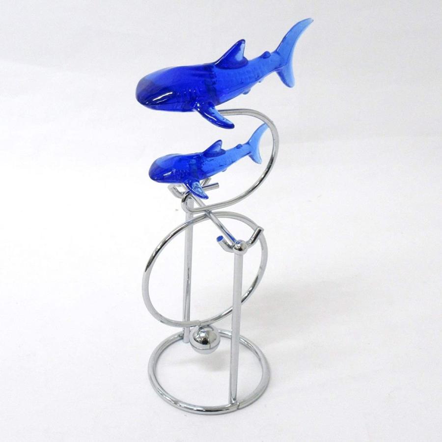 インテリア 癒しのバランスアート(M)ジンベイサメ 208-139|hanamaru-store|05