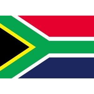 南アフリカ 国旗 ミニフラッグ ポール 吸盤付き 高級テトロン製|hanamaru-store