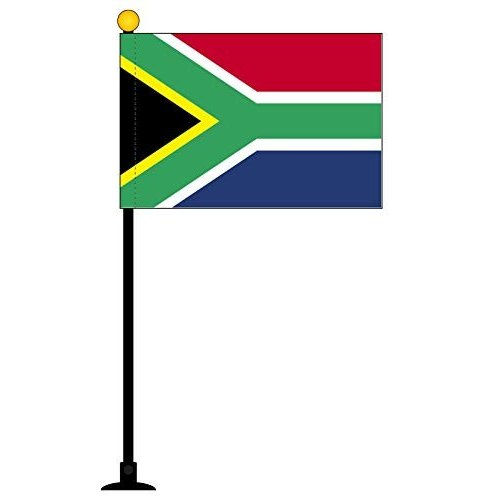 南アフリカ 国旗 ミニフラッグ ポール 吸盤付き 高級テトロン製|hanamaru-store|07