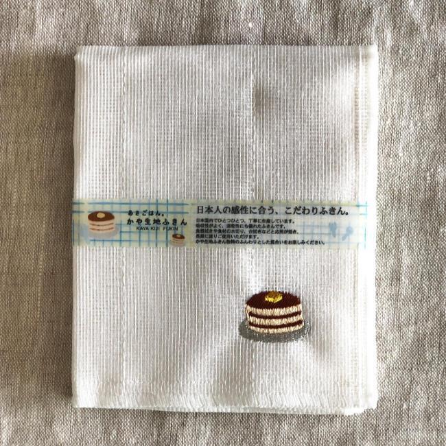 かや生地ふきん パンケーキ hanamomimo-zakkaten 02