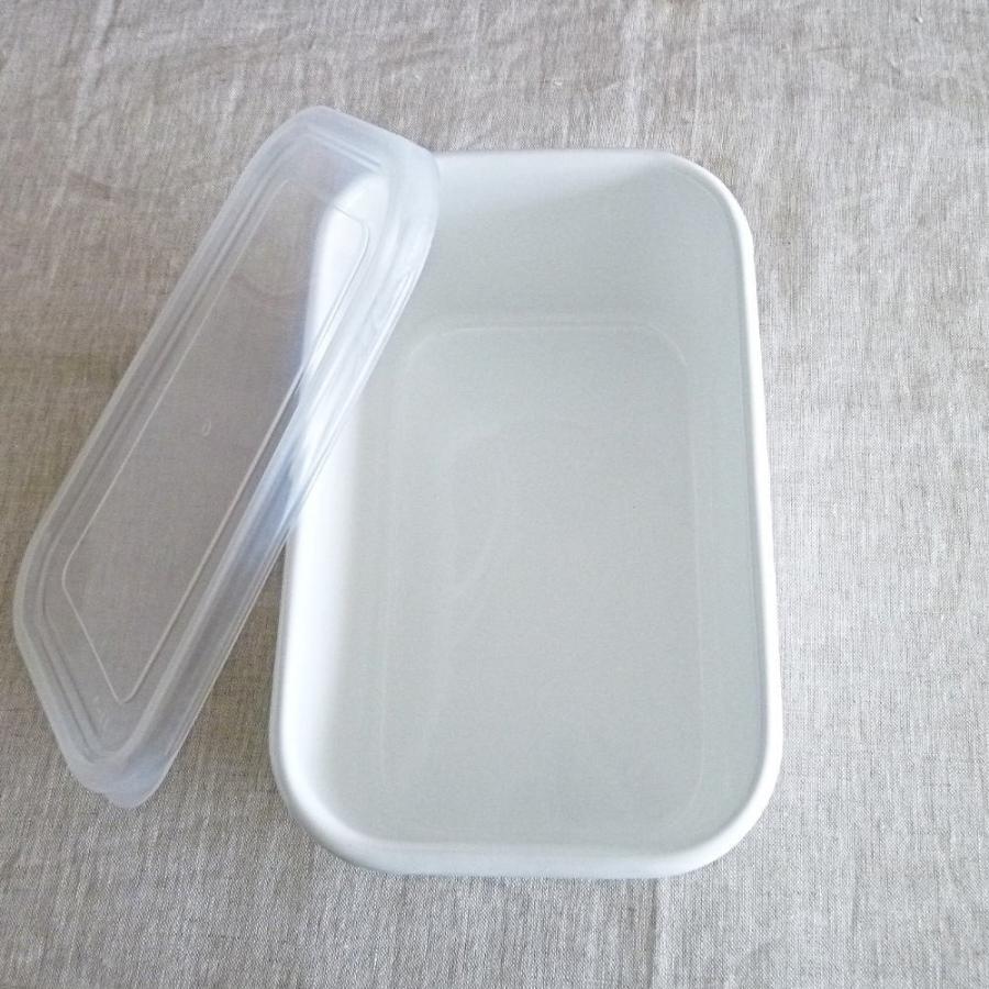 野田琺瑯 ホワイトシリーズ レクタンブル深型シール蓋付LL hanamomimo-zakkaten 05