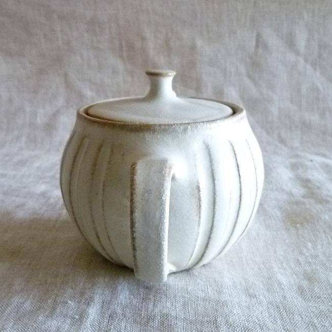 益子焼 わかさま陶芸 kinari キナリ まん丸ティーポット 小|hanamomimo-zakkaten|06
