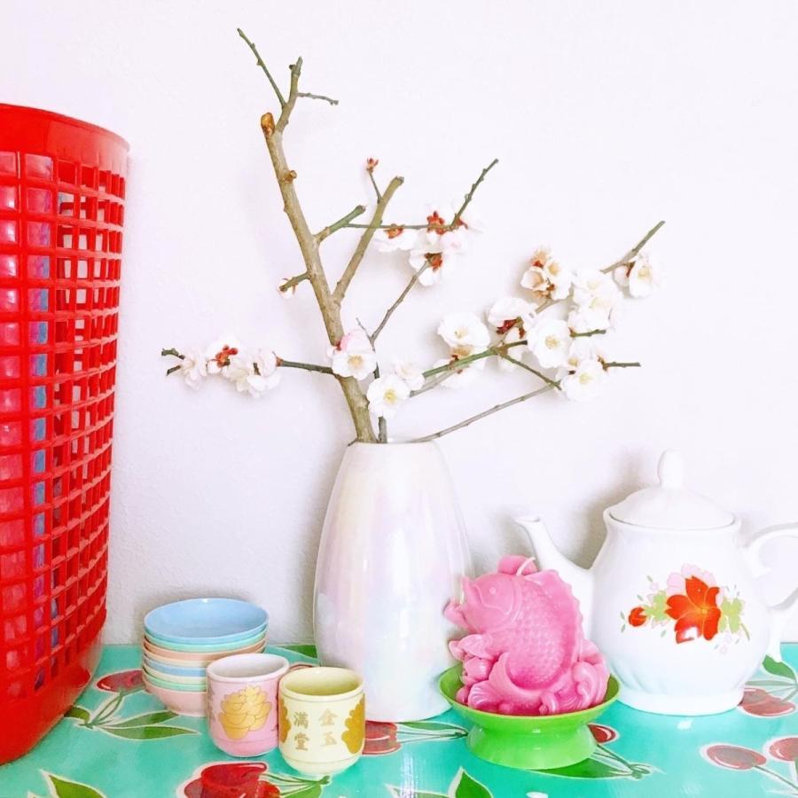 ベトナム・鯉と蓮の花キャンドル / ピンク hananoco-bazaar 11