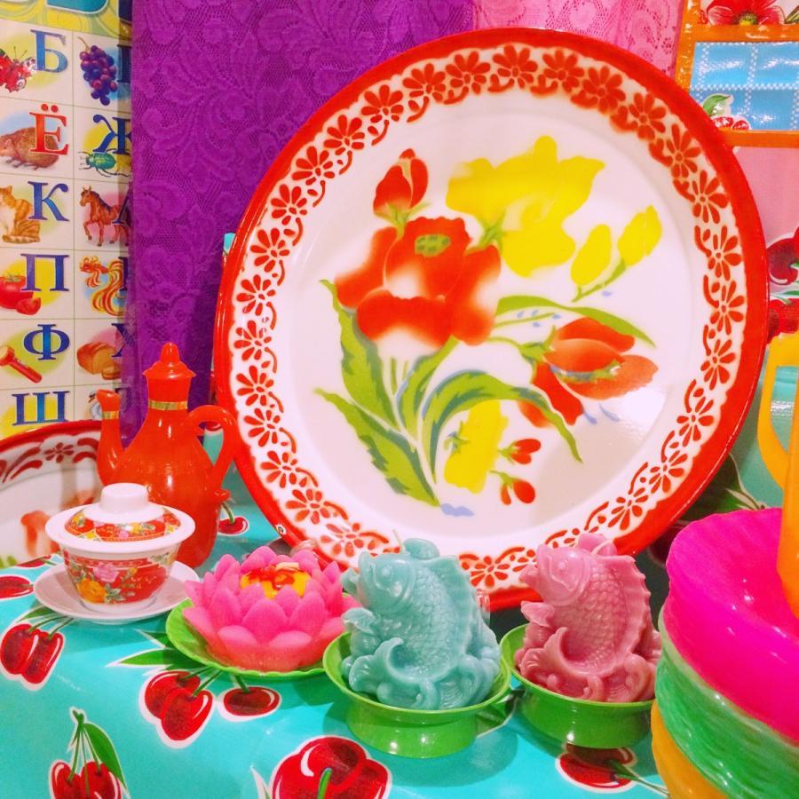 ベトナム・鯉と蓮の花キャンドル / ピンク hananoco-bazaar 10