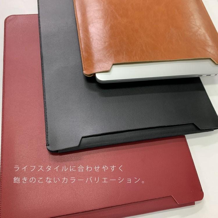 MacBook ケース MacBookPro MacBookAir 12inch 13inch 13.3inch 2018 2017 Mac Apple スリーブ PUレザー カバー 2018年モデル|hanaro-online-store|05