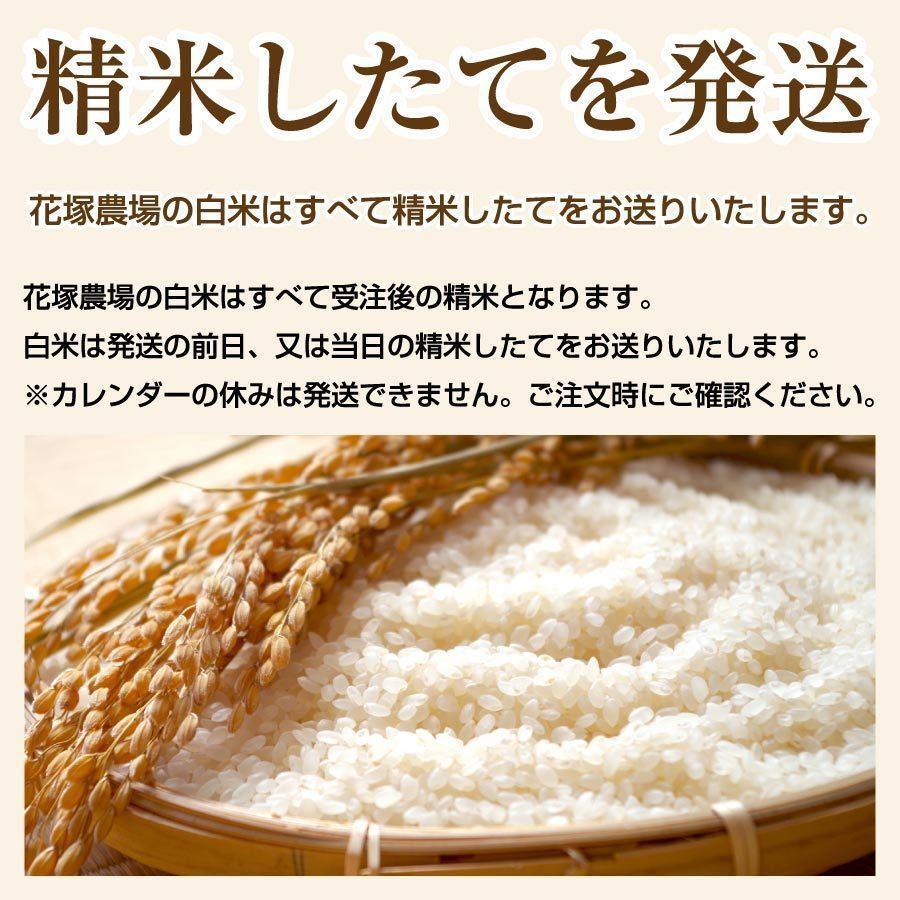 令和2年産米 秋田県産 あきたこまち 特別栽培 白米 5kg 農薬8割減 化学肥料9割減 慣行栽培比 農家直送|hanatsukafarm|04
