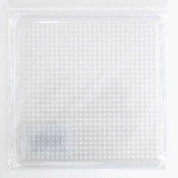 アイロンビーズ プレート 大 四角形 AB-300-01 5mm用 1F 遊 アイロンビーズプレート 割引も実施中 手芸の山久 創 メーカー公式ショップ