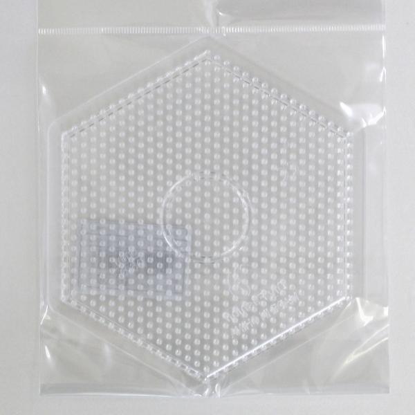 アイロンビーズ プレート 公式ストア 即納 大 六角形 AB-300-02 5mm用 アイロンビーズプレート 遊 創 手芸の山久 1F