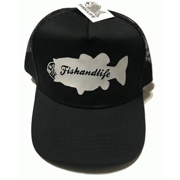 FISHandLIFE MESH CAP BASS NAME handcsports