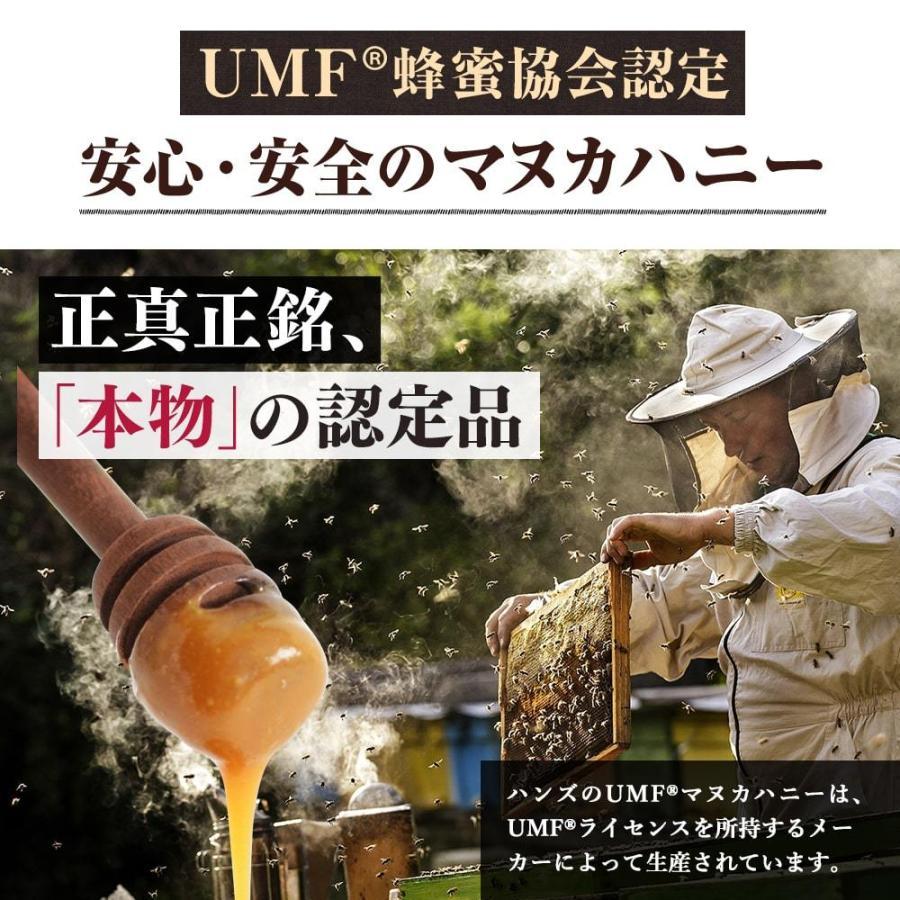 マヌカハニー UMF15+ 250g ハニーバレー マヌカハニー MGO 514〜828相当 はちみつ 蜂蜜|hands|12