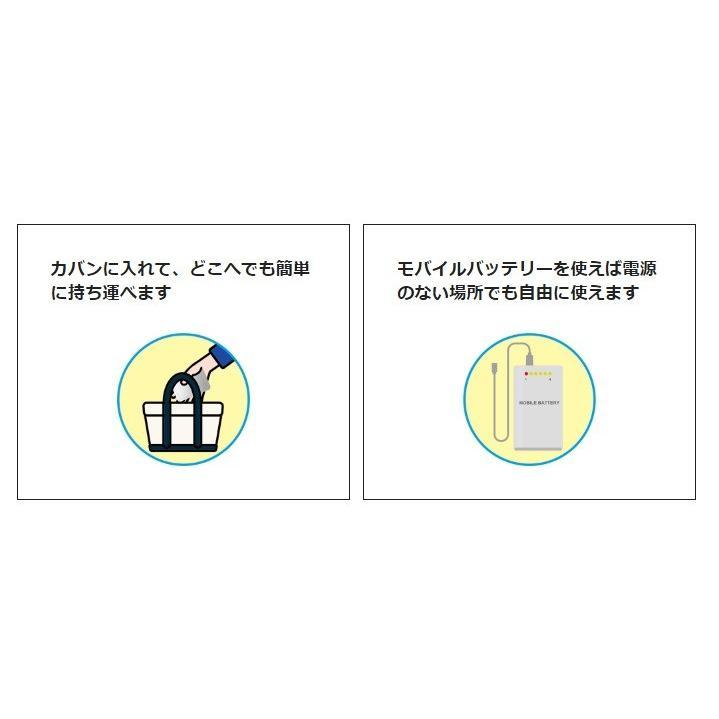 在庫あり ozobarrier オゾバリア モバイルタイプ 低濃度オゾン発生機 グレー/パール 除菌・花粉・脱臭・PM2.5 handskotera 04