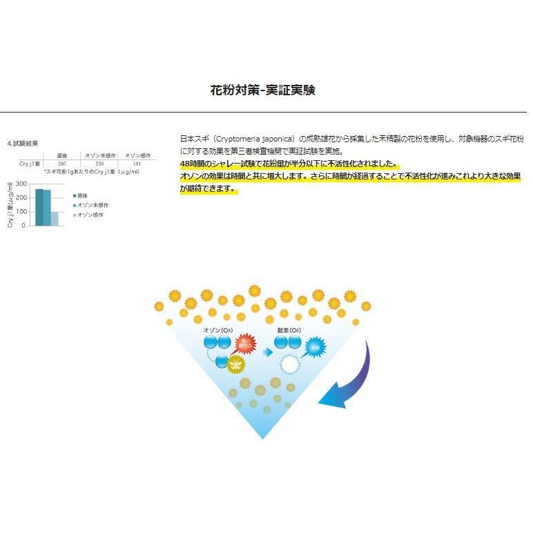 在庫あり ozobarrier オゾバリア モバイルタイプ 低濃度オゾン発生機 グレー/パール 除菌・花粉・脱臭・PM2.5 handskotera 10