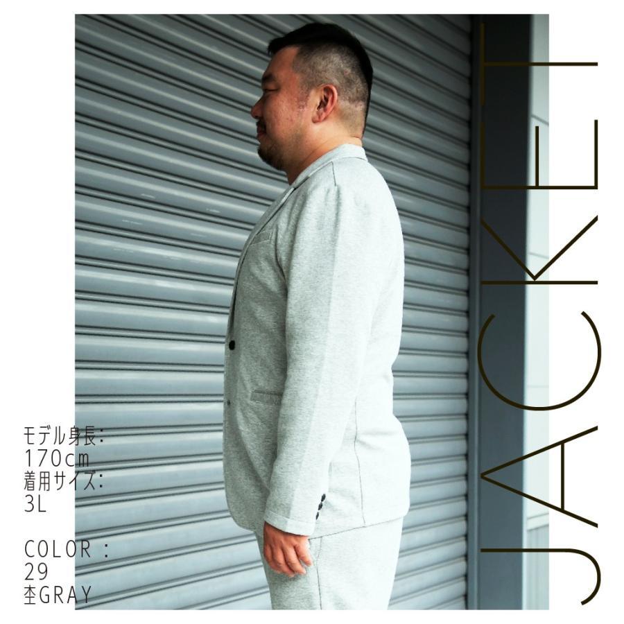 ジャケット メンズ 大きいサイズ 長袖 テーラード|hangaa|05