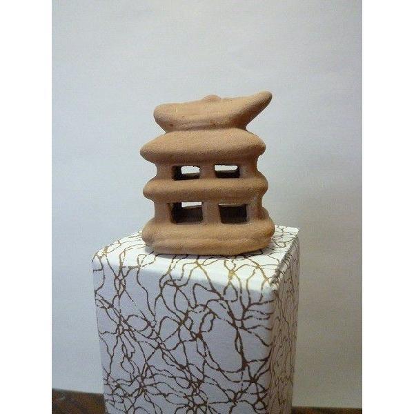 期間限定で特別価格 豆埴輪 はにわ 家 古墳 未使用