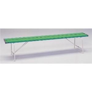 ユニット UNIT ベンチ 376−81 背なし1800 緑色 ベンチ 376−81 背なし1800 緑色 ベンチ 376−81 背なし1800 緑色 b52
