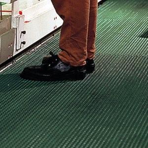 ユニット UNIT 疲労防止マット (厚手) セーフ・ティーグマット 緑 900mm×3m