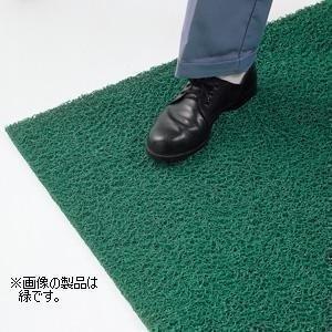 ユニット UNIT 疲労防止ノーマッド印マット エキストラデューティ 濃緑 90cm×6m