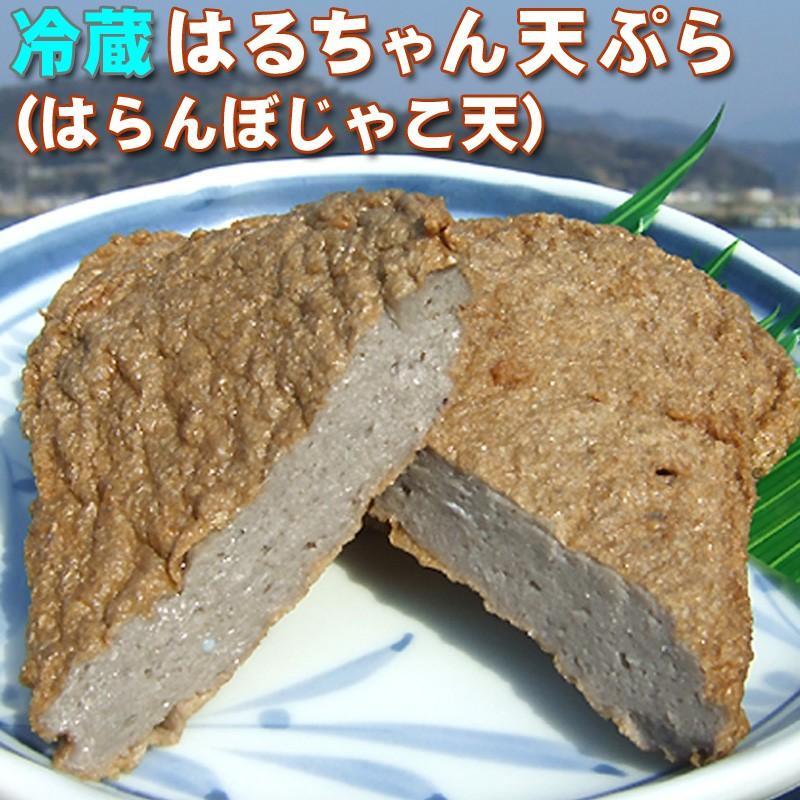 冷蔵はるちゃん天ぷら10枚(はらんぼじゃこ天)|hannouhangyo