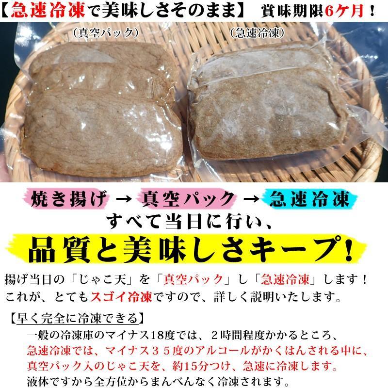 冷蔵はるちゃん天ぷら10枚(はらんぼじゃこ天)|hannouhangyo|13