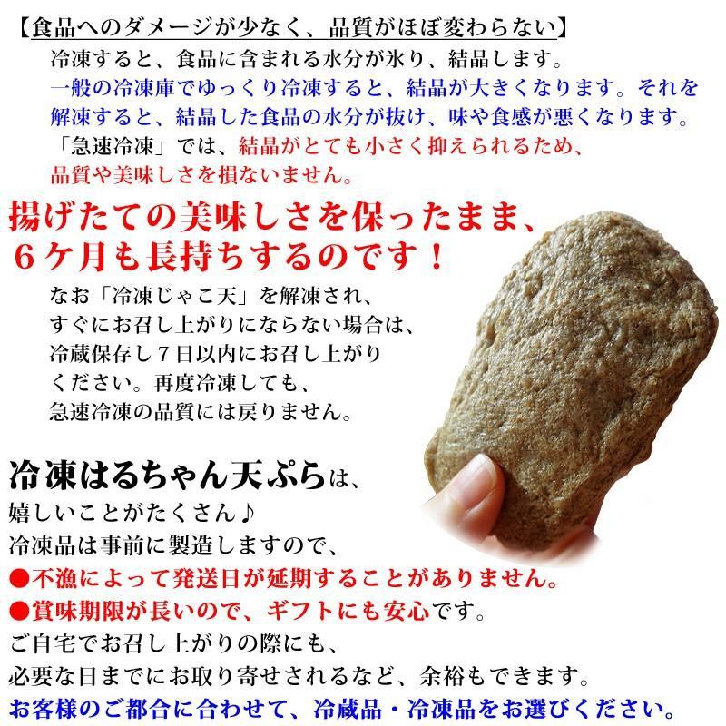 冷蔵はるちゃん天ぷら10枚(はらんぼじゃこ天)|hannouhangyo|14