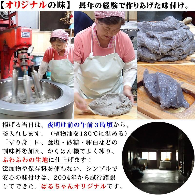 冷蔵はるちゃん天ぷら10枚(はらんぼじゃこ天)|hannouhangyo|08