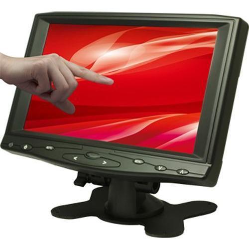 エーディテクノ [CL7619NT] 7インチ ワイド タッチパネル 液晶ディスプレイ(800x480/HDMI/VGA/RCAx2/スピーカー/LED/4線式抵抗膜) hanryuwood