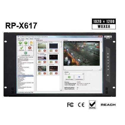 オースティンヒューズ [RP-X617] 17インチワイド 高解像度ラックマウントディスプレイパネル|hanryuwood